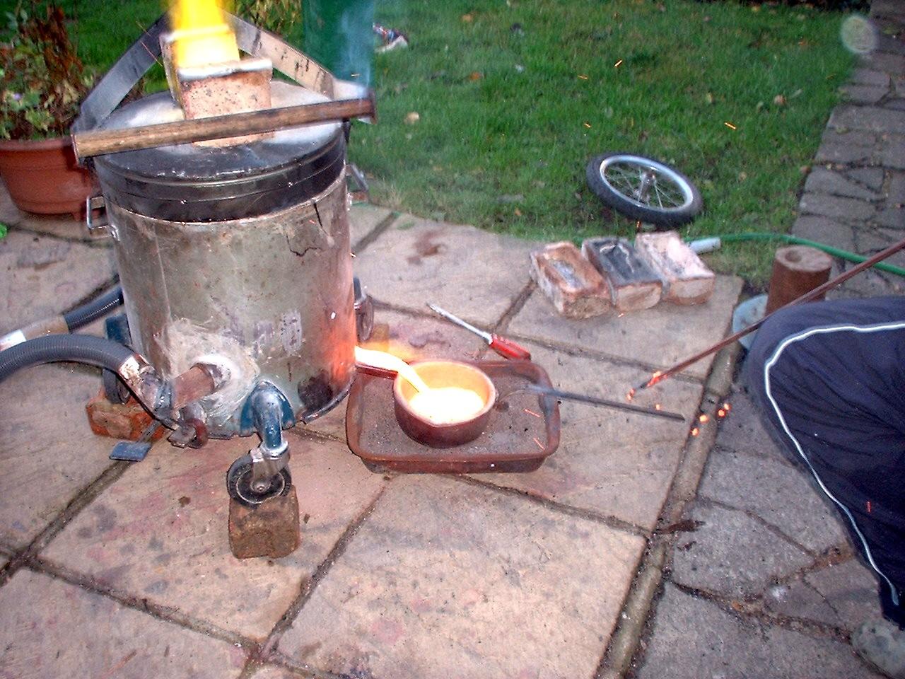 earlier furnaces the artful bodger u0027s home foundry